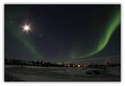 Canada's Arctic-Beautiful Land-Aurora-Inuit traditional lifestyle